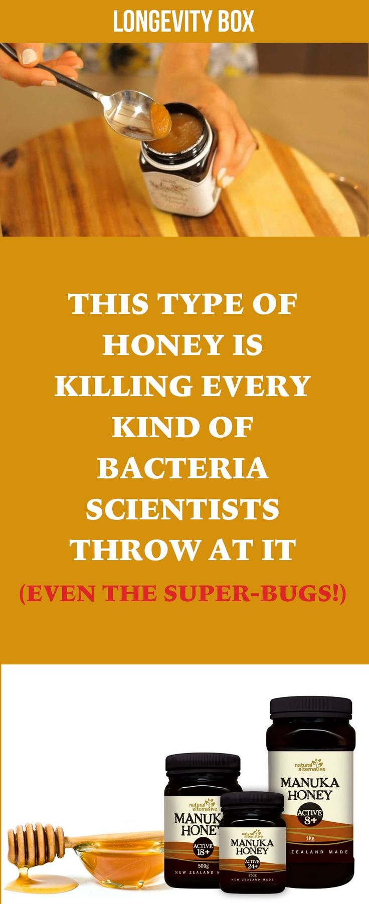 THIS Type of HONEY is Killing Every Kind of Bacteria Scientists Throw At It