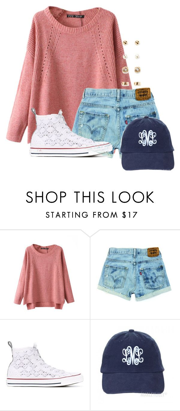 """""""U can still wear long sleeves in the summer"""" by flroasburn ❤ liked on Polyvore featuring Chicnova Fashion, Converse and Forever 21"""