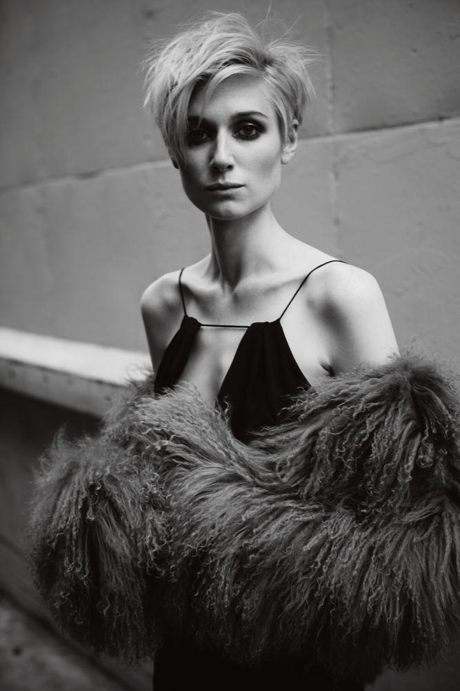 Elizabeth Debicki, photographed by Guy Lowndes for INTERIVEW, April 2016.