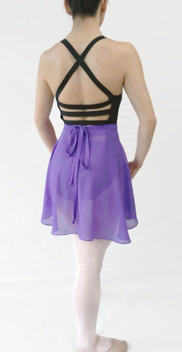 Women's Chiffon Ballet wrap skirt by JustMyStyleBoutique on Etsy