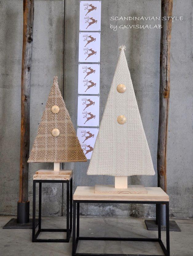 via en.dawanda.com Christmas Decorations – Albero di Natale stilizzato – a unique product by GKvisualab on DaWanda