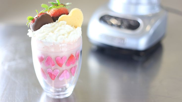 A new spin on sweets for your sweetheart on Valentine's Day in just a blender away.
