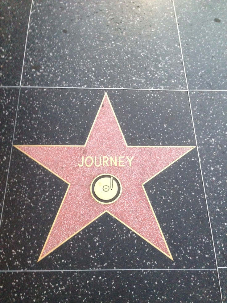 Journey is my favorite band. Cody took this pic for me while In Hollywood
