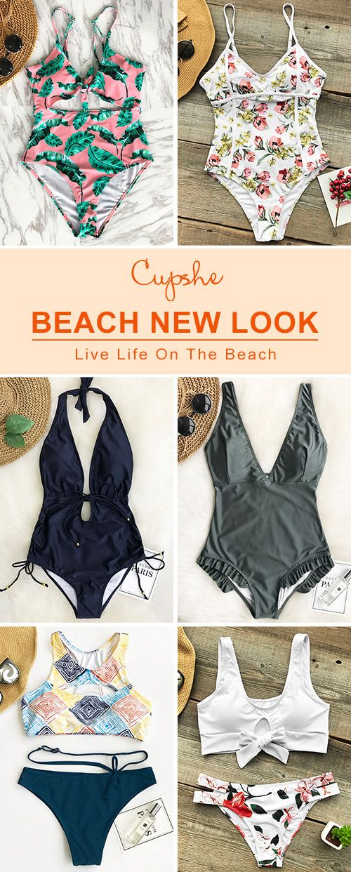 New Arrivals! Pick up these chic fantastic beach wears, babe~ Various bathing suit styles include: one-piece, halter design... Have some fun in the sun with them! FREE shipping ~ SHOP NOW!
