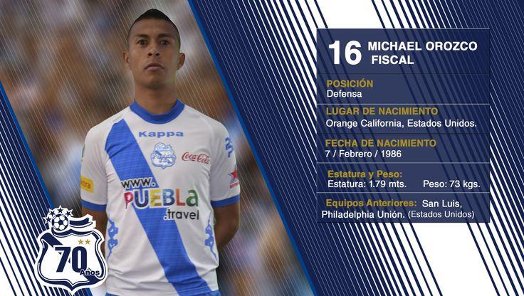 #16 Michael Orozco