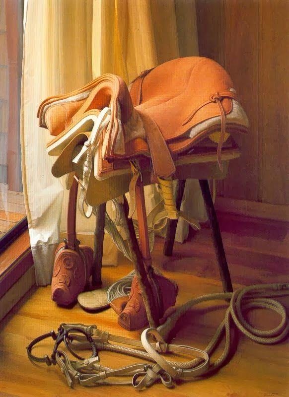 Montura de caballo chileno