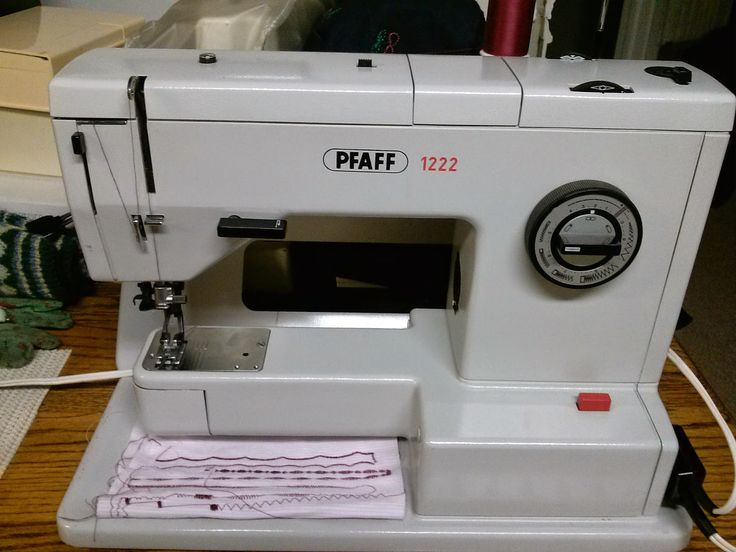 17 Best Images About Pfaff 1222 Sewing Machines On