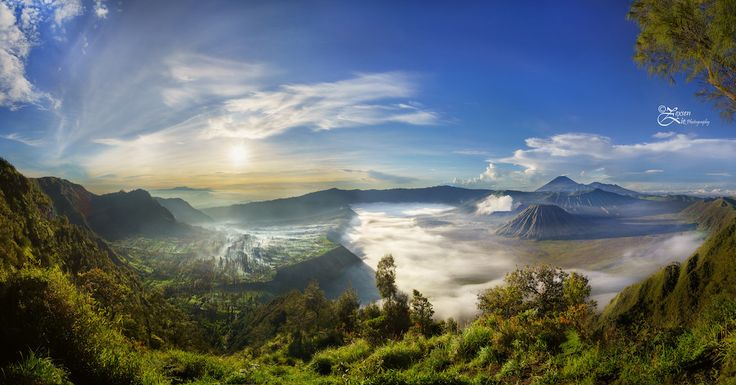 Indonézia, Mount Bromo, Java