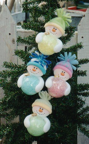 Patterns for purchase - DIY snowman ornaments | snowman ornament 133 6 1 2 ornament
