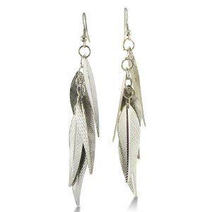 Lightweight Multi-Leaf Dangle Earrings $7.99