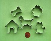 Mini Dog Bone Cookie Cutter -