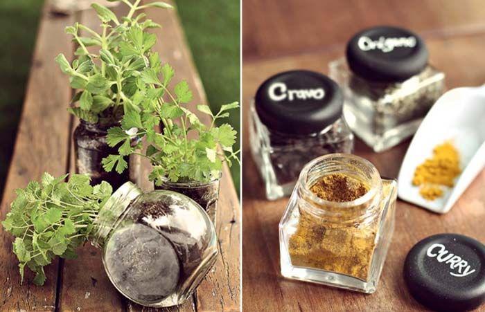 12 ideias para você reaproveitar frascos de vidro   Blog do Casamento