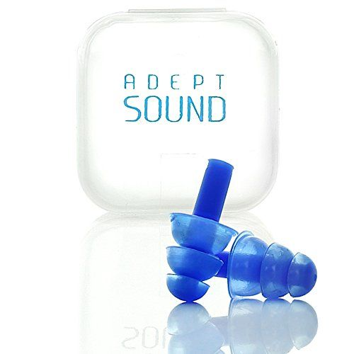 Ear Plugs (Blue) Noise Cancelling For Sleeping, Concerts,...