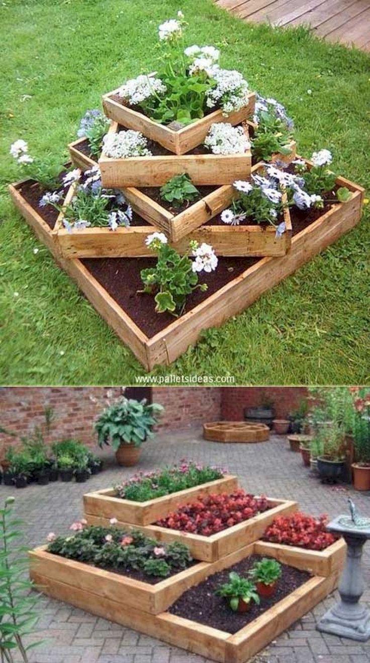 Schöne und einfache DIY Vintage Garden Decor-Ideen Auf ein Budget, das Sie sofort ausprobieren müssen No 61