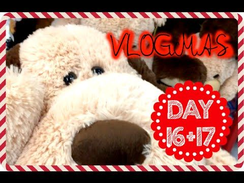 VLOGMAS Day 16+17, 2015 - PLUSHIE OBSESSION! | Ginaslifee