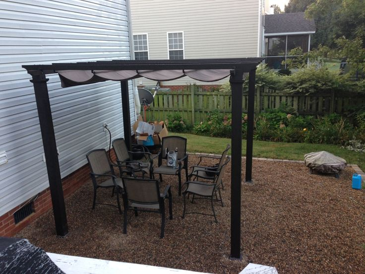 Exterior: Antique Metal Pergola Fixings And Metal Pergola For Wisteria from Metal Pergola Roof