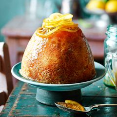 Lemon and ginger steamed pudding - Sainsbury's Magazine