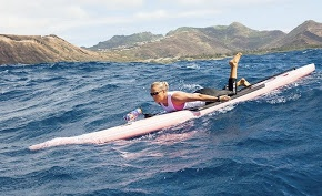 Kanesa Duncan Seraphin - winner of over 50 paddleboard races around the world!