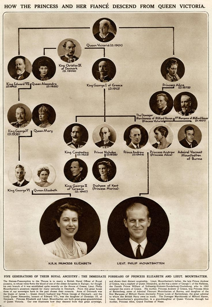 Queen Elizabeth and Prince Philip 3rd cousins
