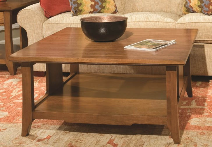 Westwood Square Cocktail Table.   #MadeinCanada #SolidWood