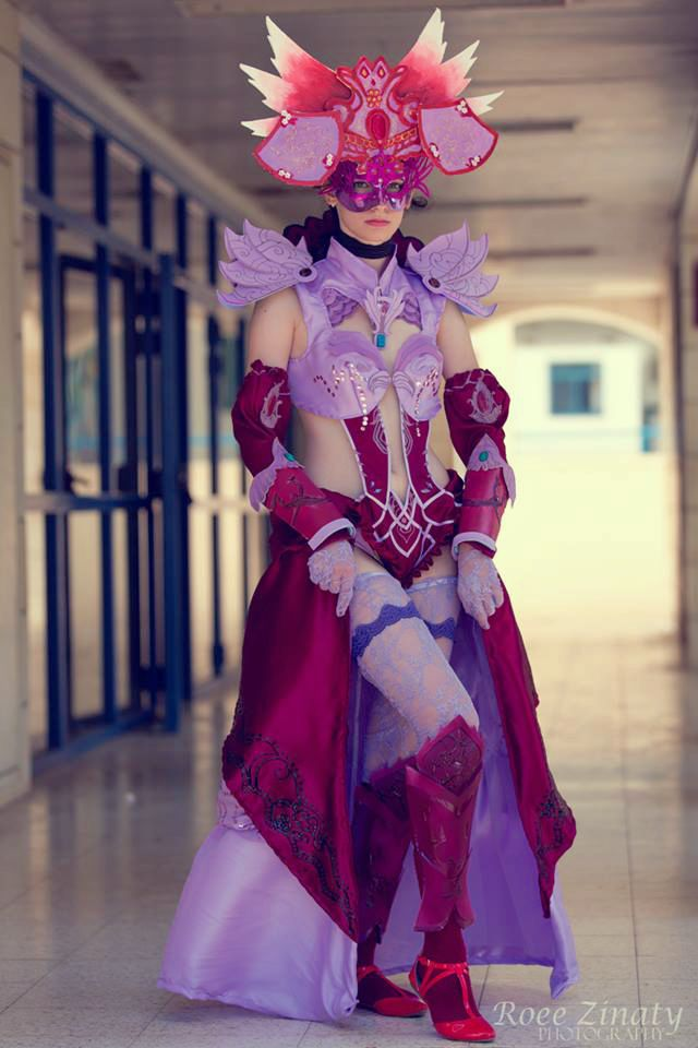Guild Wars 2 Mesmer Masquerade Armor Cosplay by FaithCosplay
