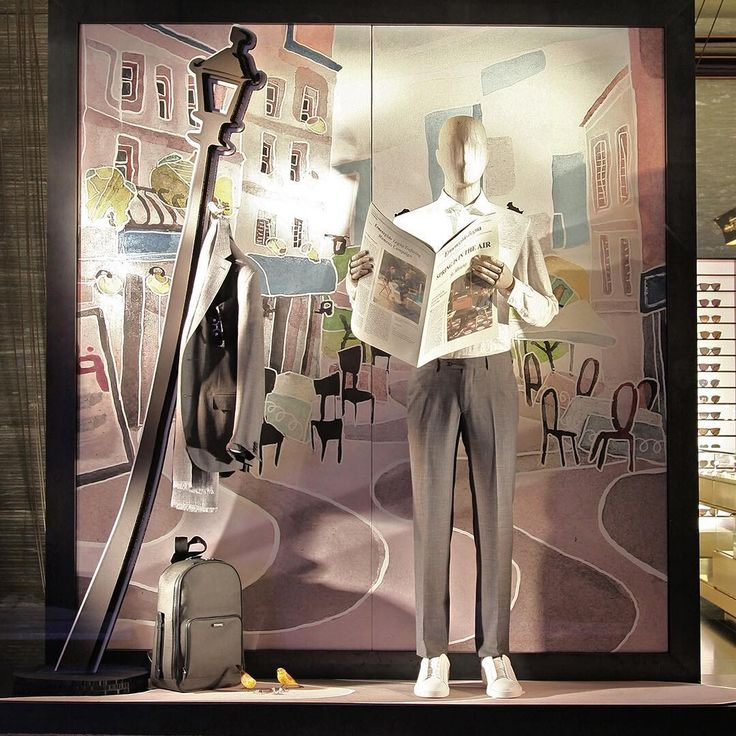 Spring is in the air. Discover the new windows from our Global Store in Paris.
