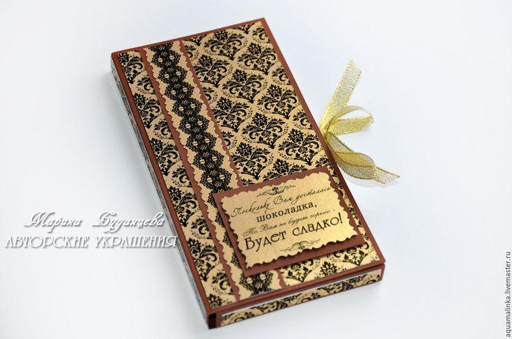 Купить Шоколадница универсальная. В золоте. - шоколадница, подарок, шоколад, золотистый цвет, золотой
