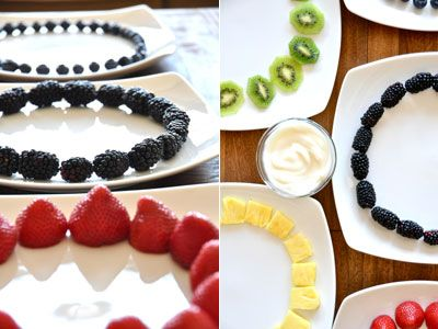 A Festive Fruit Salad To Ring in the 2012 Olympic Games