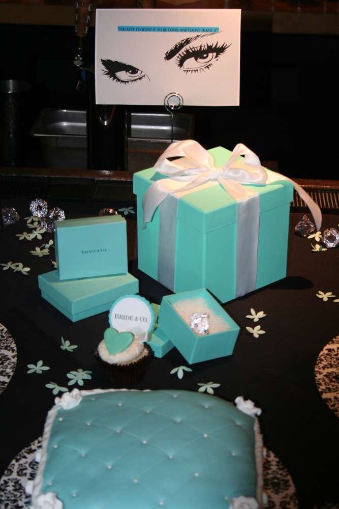 Breakfast at Tiffany's Bridal/Wedding Shower Party Ideas | Photo 1 of 10 | Catch My Party