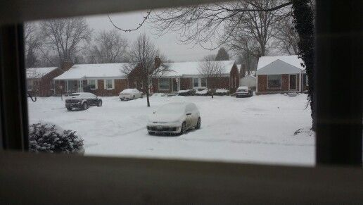 Snowed in gti