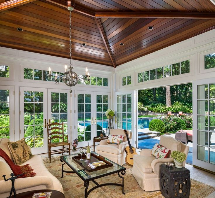 Decor Sunroom Decor And Guitar And A Glass Table With Steel Frame Also Sofa And Pillow As Well As Carpet And Wooden Chair With Wooden Table And Flower Vase Time To Revive Your Sunroom Decor