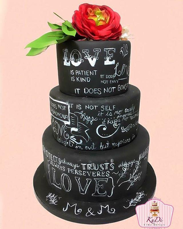 #weddingcake #weddingcakes #matrimonio #hochzeitstorte #hochzeit #justmarried #love #wedding #weddingplanning #weddingcelebration #fondant #flowers #gumpaste #black #mitliebegemacht #cakeart #instacake #instacool #picoftheday #reposteria #konditorei #cakery #frankfurt #evedeso #eventdesignsource - posted by KuDi - Cake Desgin https://www.instagram.com/kudicakes. See more Wedding Cake Designs at http://Evedeso.com