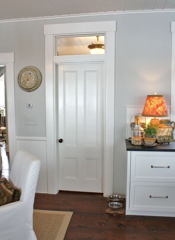 Love The Transom Over The Pantry Door For The Home Pinterest