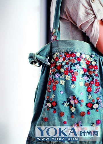 HOT - Yoka - old jeans recycled into fashion accessories and household furnishings.