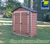 Palram Plastic Skylight Sheds from Greenhouse Stores with Free UK home Delivery.  http://www.greenhousestores.co.uk/Palram-Plastic-Skylight-Sheds/