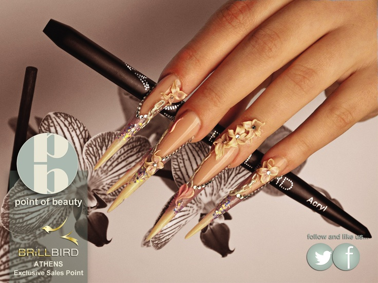 Amazing nails only with Brillbird products