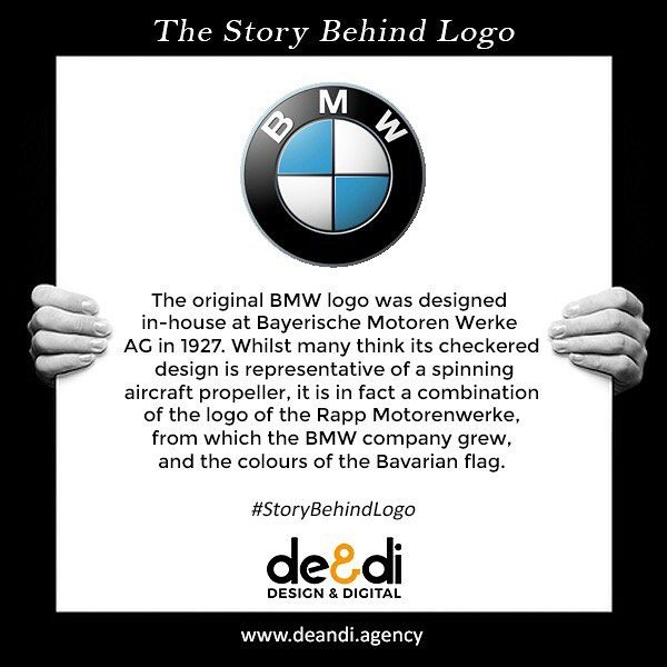 The Bmw Logo Story Know The Story And Meaning Behind The World Famous Logos Storybehindthelogo Bmw Story Logo Design Graphi Famous Logos Logos Bmw Logo