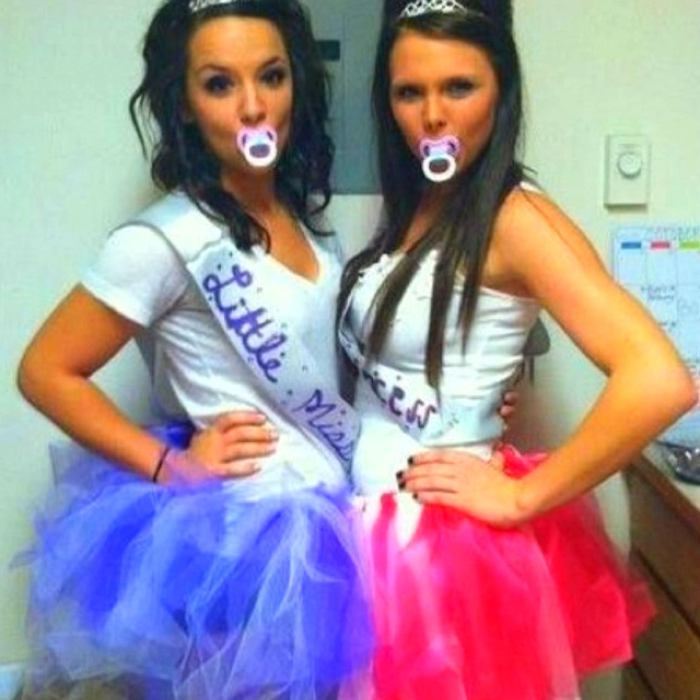 @Susie Moynihan this might be fun and easy toddlers in tiaras Halloween Costume