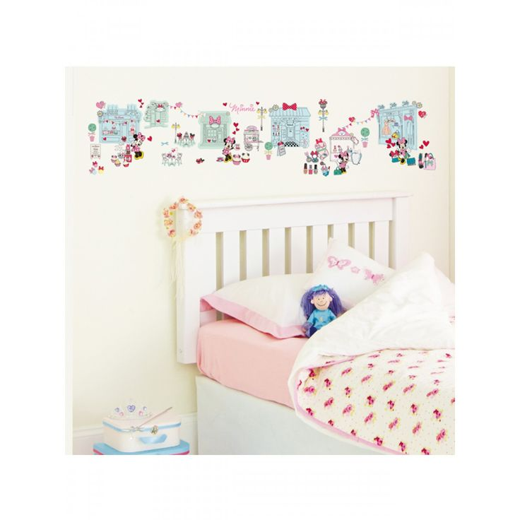 Minnie Mouse Stick A Story Wall Stickers