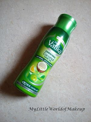 MY LITTLE WORLD OF MAKE UP: Dabur Vatika Enriched Coconut Hair Oil Review