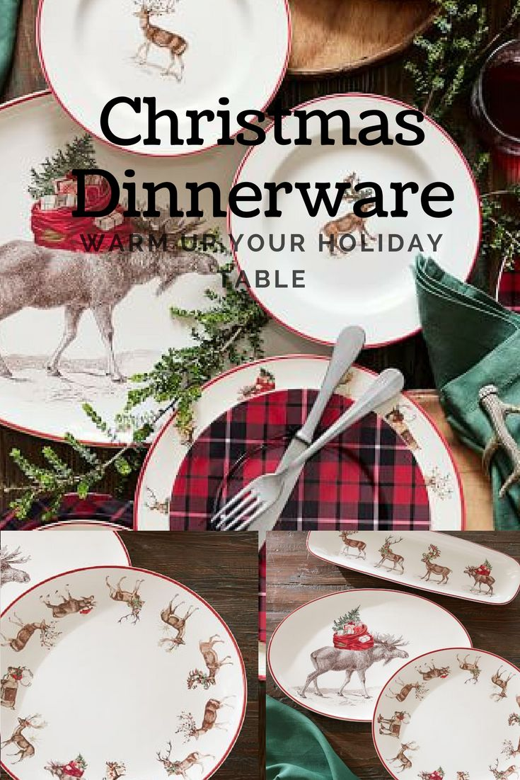 I need some new Dinner ware for Christmas Dinner. SO cute! #christmas #ad