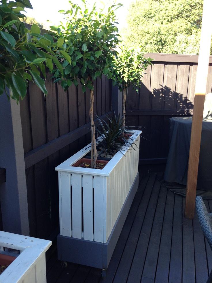 Diy Planter Box Garden Design Pinterest Trees Diy Planter Box And The O Jays