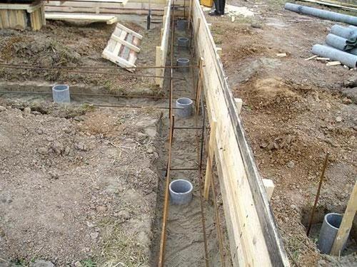 Строим дом. Cвайно-ростверковый фундамент.