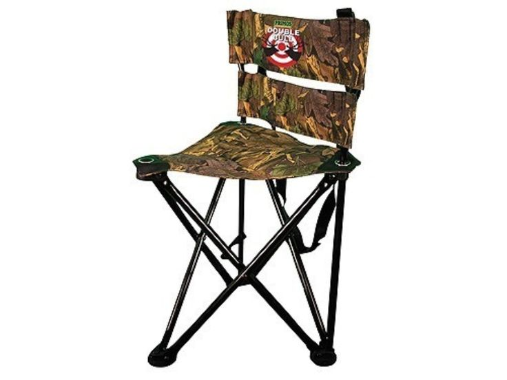 Product detail of Primos Double Bull QS3 Magnum Tri-Stool Ground Hunting Blind Chair Ground Swat Camo