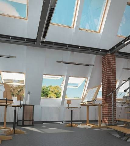 FAKRO top hung roof windows are perfect for accessibility, usability and all-round style.