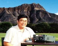 Hurricane Iniki Rallies Amateurs By Ron Hashiro, KH6JCA (Now AH6RH)  As Hurricane Iniki tore its destruction through the Hawaiian Islands, Amateur Radio operators maintained an exclusive communications backbone. (February 1993 American Radio Relay League, Inc.)