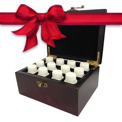 Ultimate Synergy Kit With Storage Box - All 12 synergy blends in a wooden storage box. http://www.twenty8.com/online-store/aromatherapy-tools/ultimate-synergy-blend-chritmas-pack