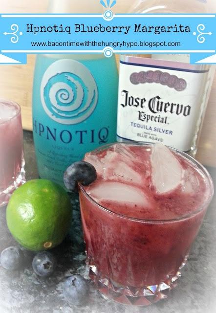 hypnotiq Blueberry Margarita a must try!