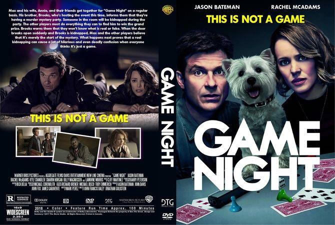 game night 2018 dvd custom cover custom dvd cover designs in