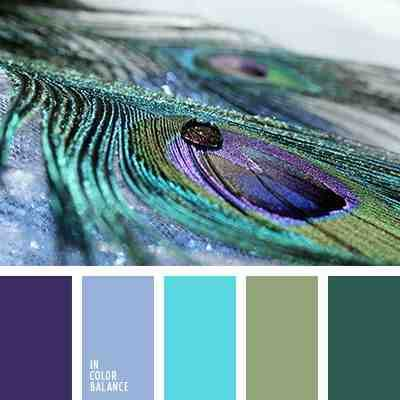 Peacock color pallet! Loving it! Goes with my other Peacock stuff!!